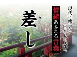 【差し(さし)(で飲みましょう)】- 現代に使いたい日本人の感情、情緒あふれる言葉
