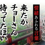 【来たか長さん待ってたほい】- 現代に使いたい日本人の感情、情緒あふれる言葉